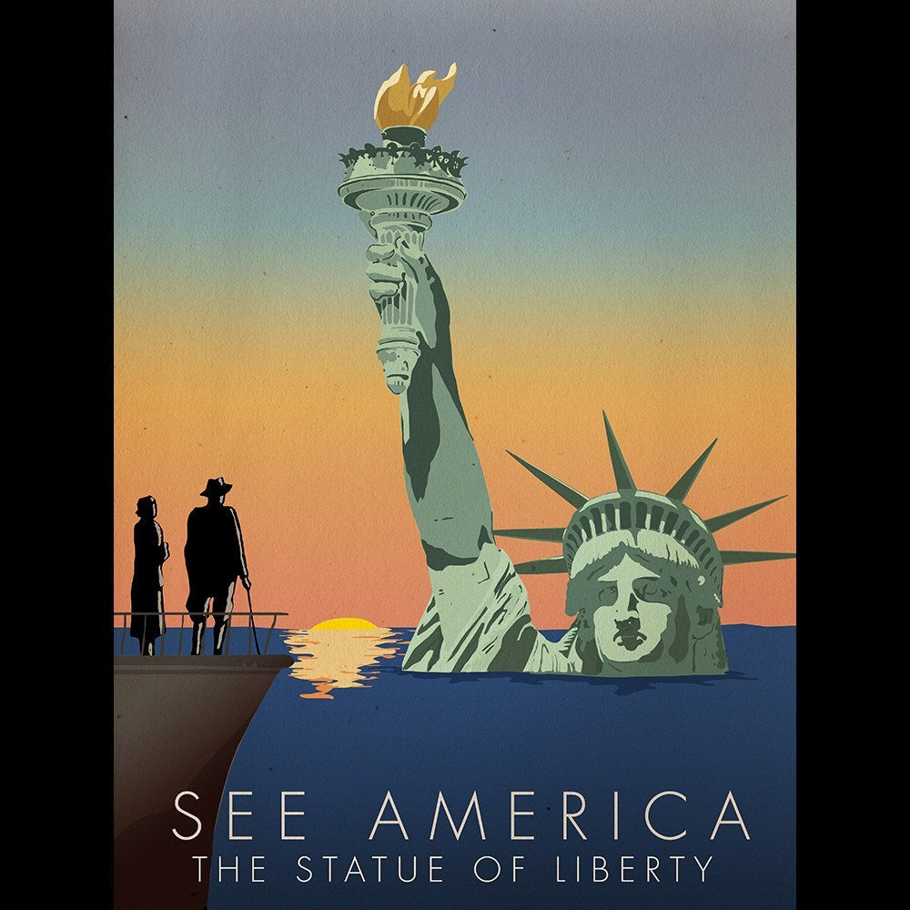 Statue of Liberty National Monument by Wade Greenberg for See America - 3