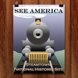 Steamtown National Historic Site by Ludlowfan for See America - 1