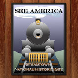 Steamtown National Historic Site by Ludlowfan for See America - 2