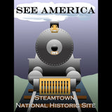 Steamtown National Historic Site by Ludlowfan for See America - 3