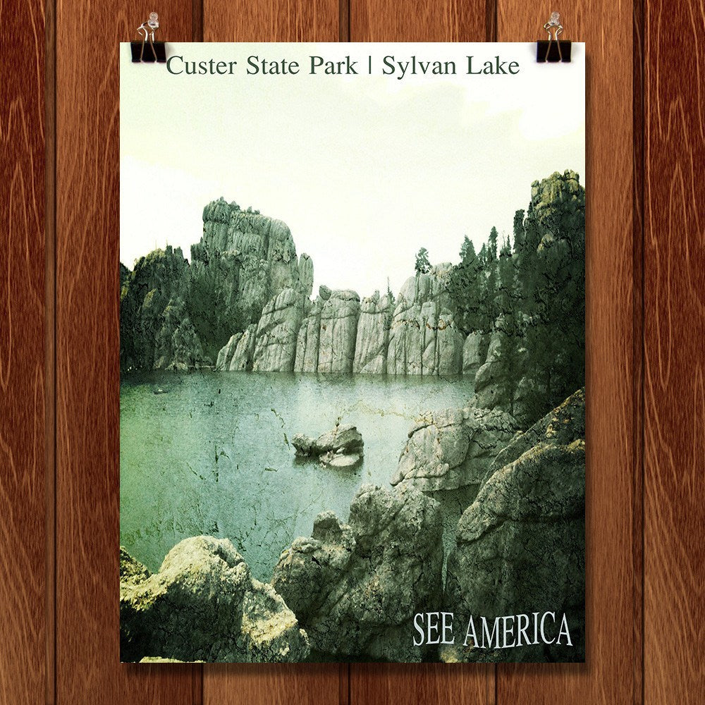 Sylvan Lake, Custer State Park by Bryan Bromstrup for See America - 1