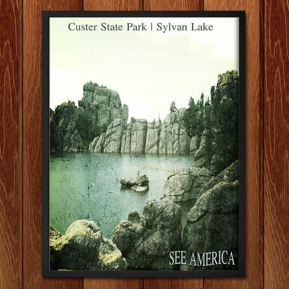 Sylvan Lake, Custer State Park by Bryan Bromstrup for See America - 2