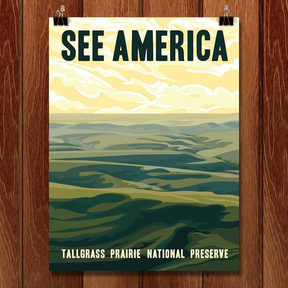 Tallgrass Prairie National Preserve by Alexis Lampley for See America - 1
