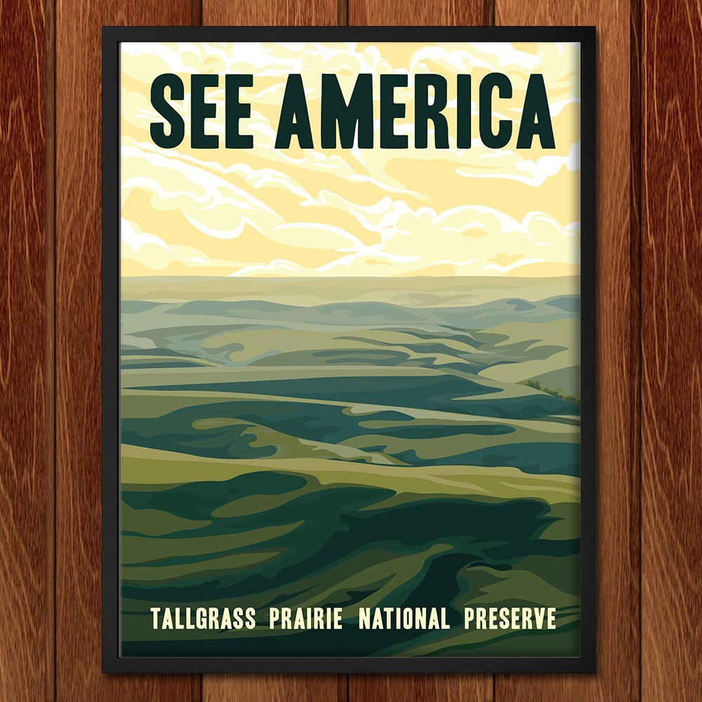 Tallgrass Prairie National Preserve by Alexis Lampley for See America - 2