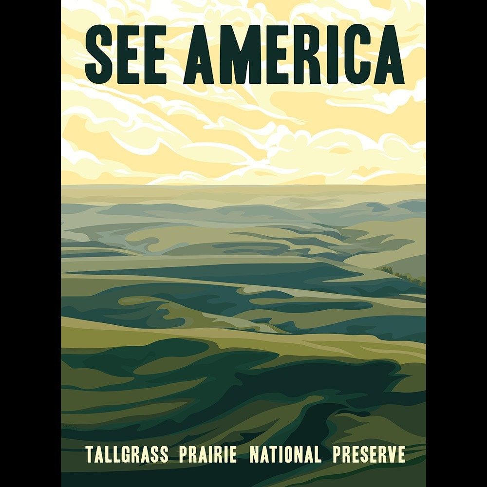 Tallgrass Prairie National Preserve by Alexis Lampley for See America - 3