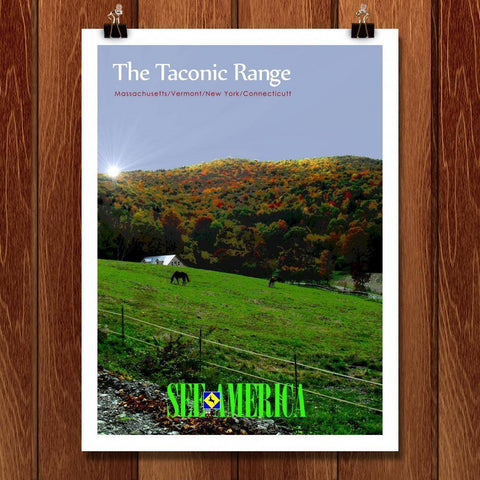 The Taconic Range 5 by Bob Rubin for See America - 1