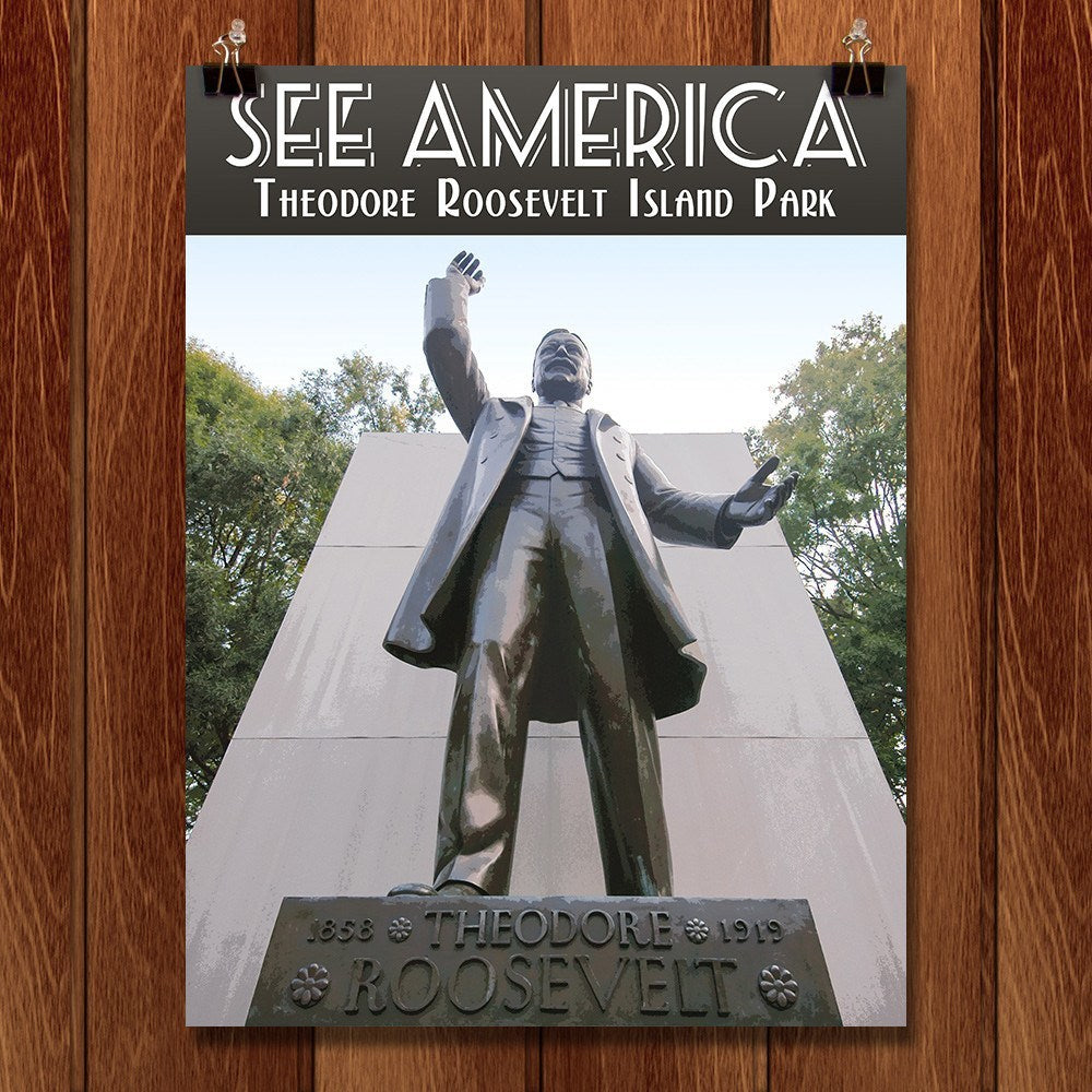 Theodore Roosevelt Island Park by Zack Frank for See America - 1