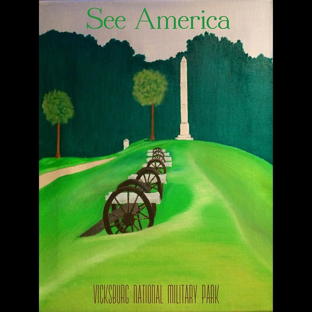 Vicksburg National Military Park by Bryan Bromstrup for See America - 3