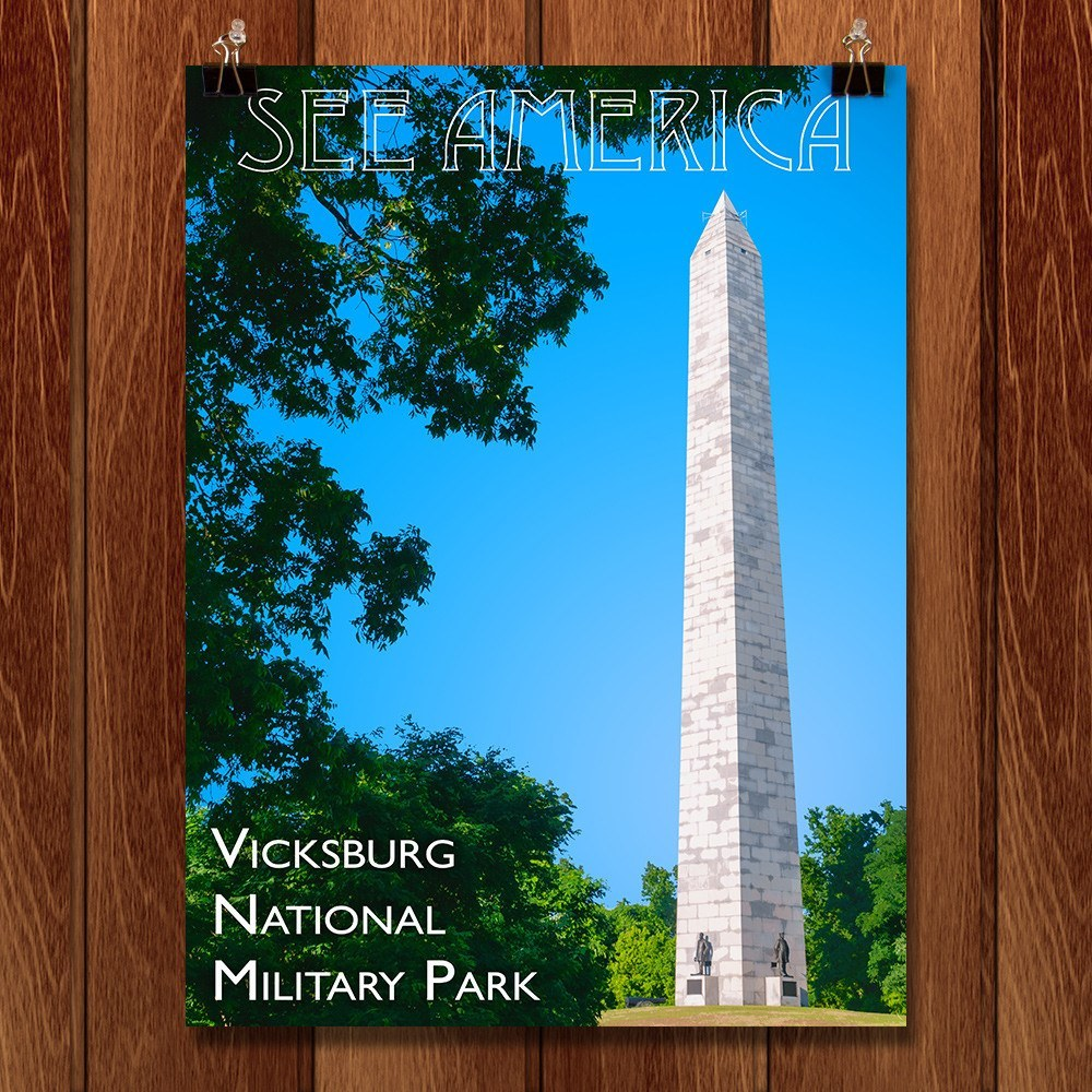 Vicksburg National Military Park by Zack Frank for See America - 1