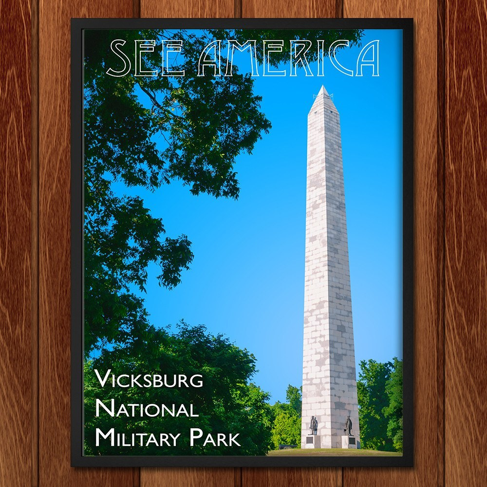Vicksburg National Military Park by Zack Frank for See America - 2