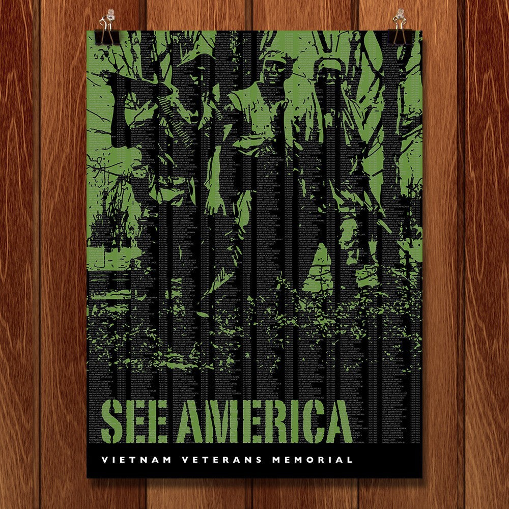 Vietnam Veterans Memorial by Darrell Stevens for See America - 1