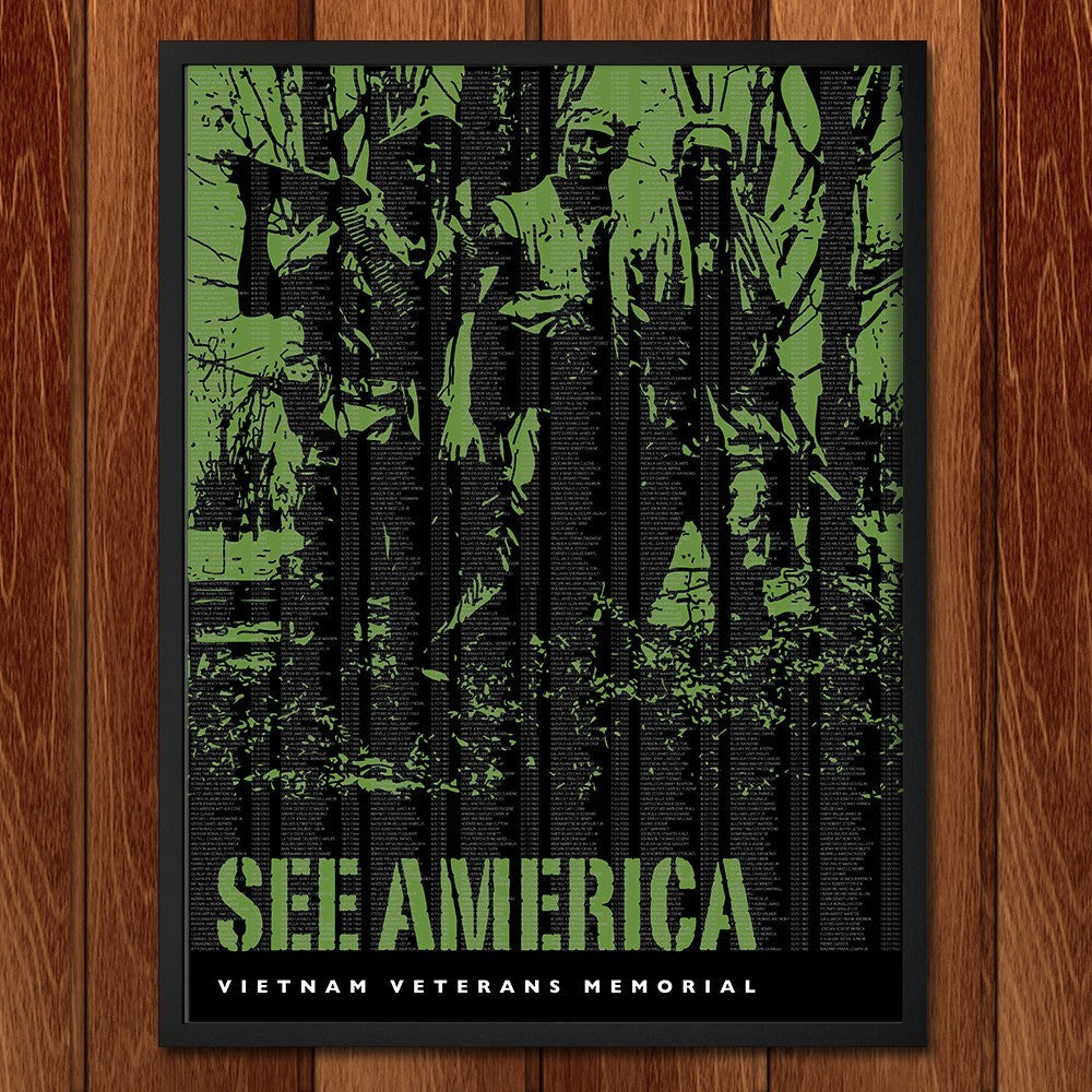 Vietnam Veterans Memorial by Darrell Stevens for See America - 2