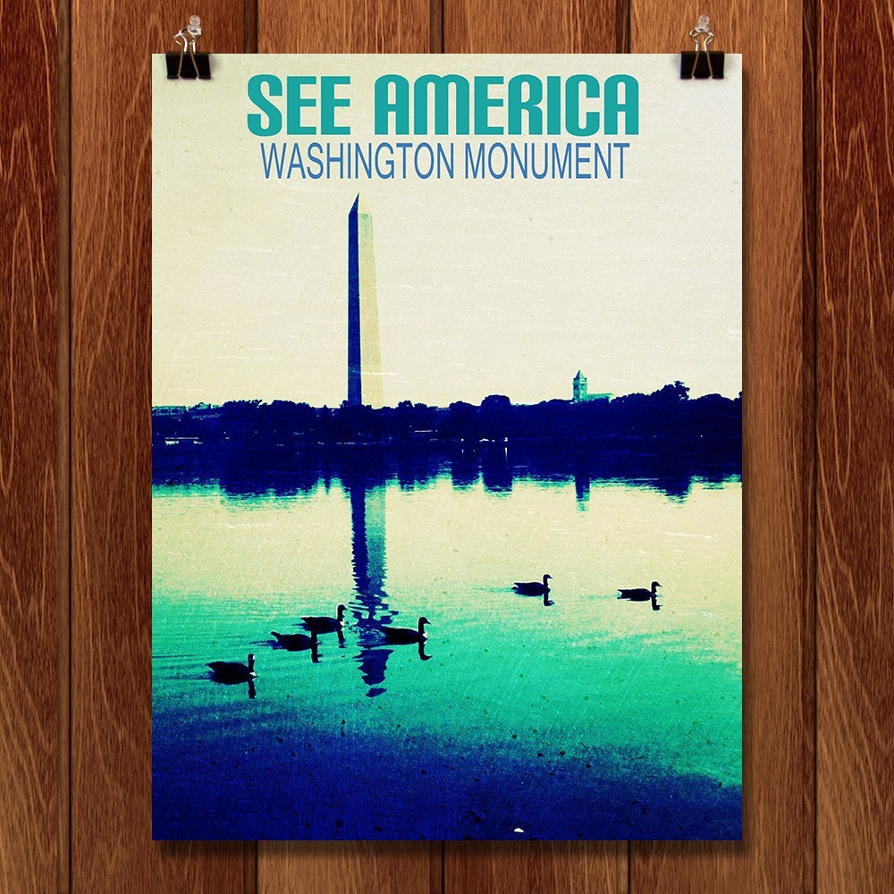 Washington Monument by Bryan Bromstrup for See America - 1