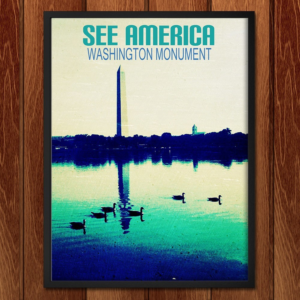 Washington Monument by Bryan Bromstrup for See America - 2