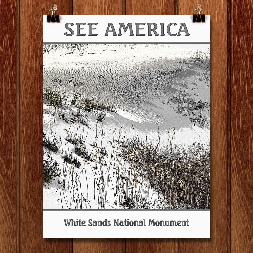 White Sands National Monument by Marcia Brandes for See America - 1
