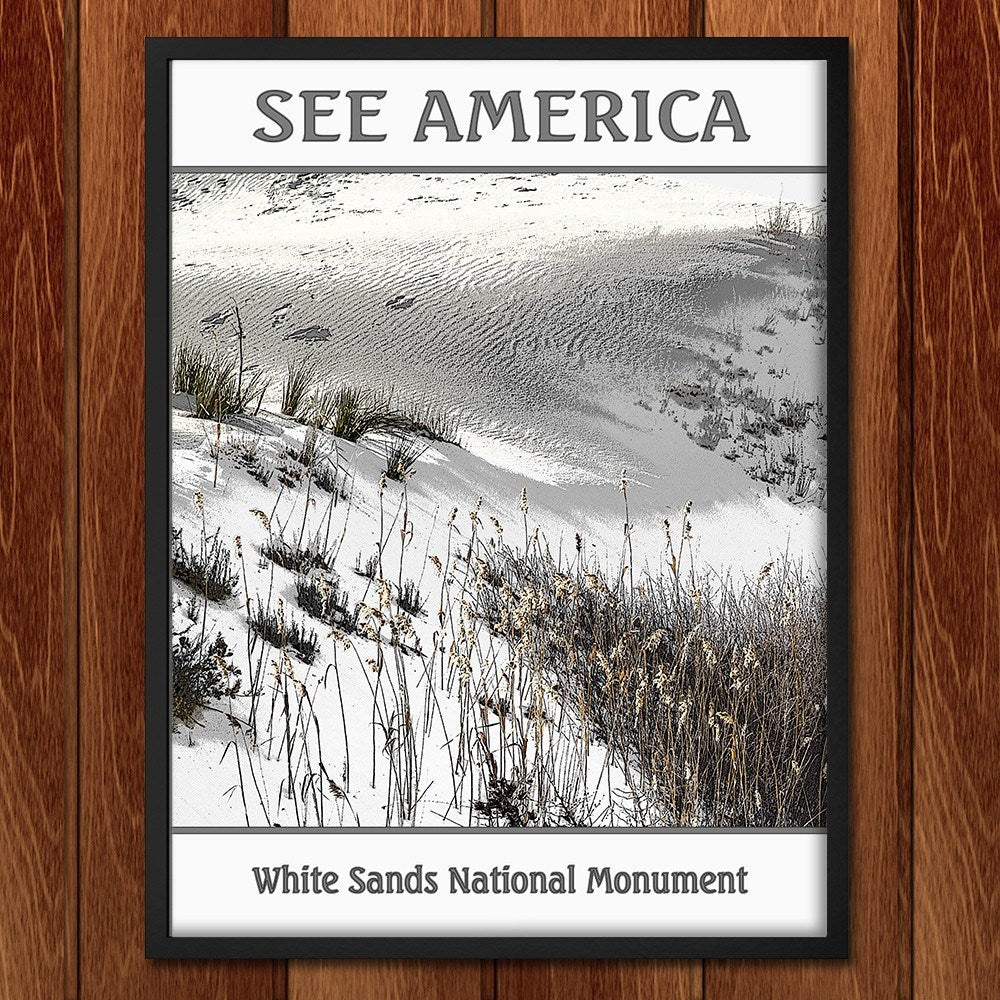 White Sands National Monument by Marcia Brandes for See America - 2