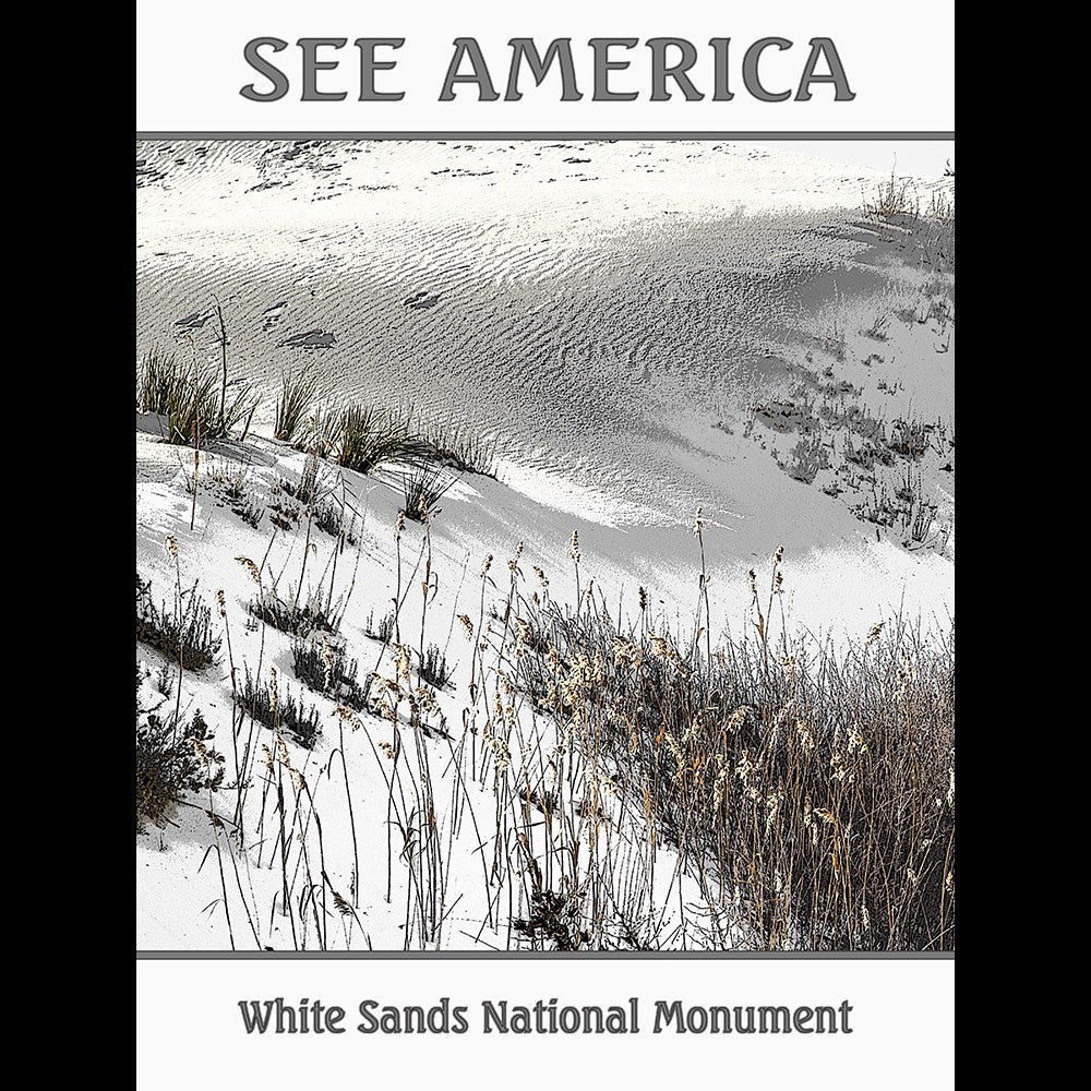 White Sands National Monument by Marcia Brandes for See America - 3