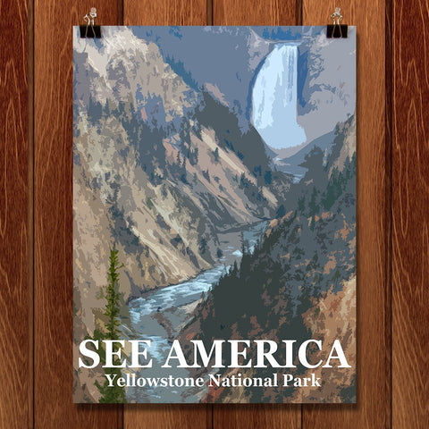 Yellowstone National Park by Bill Vitiello for See America - 1