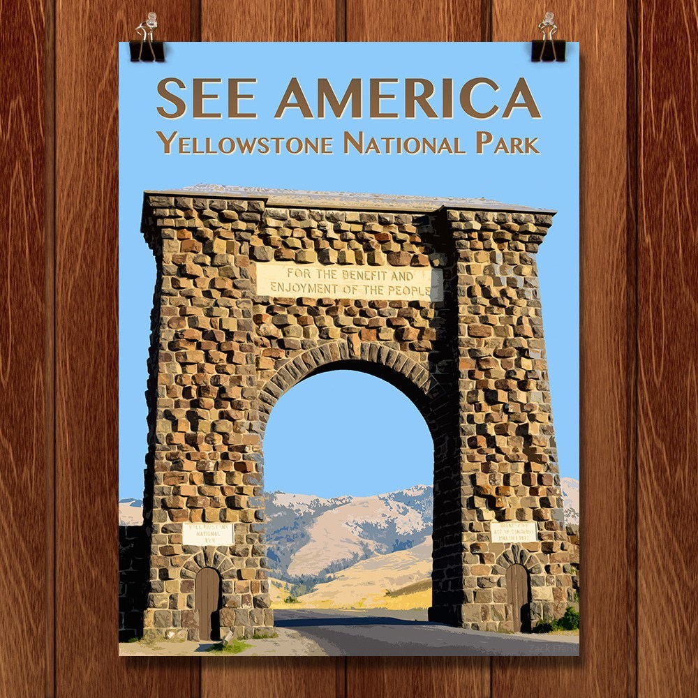 Yellowstone National Park by Zack Frank for See America - 1