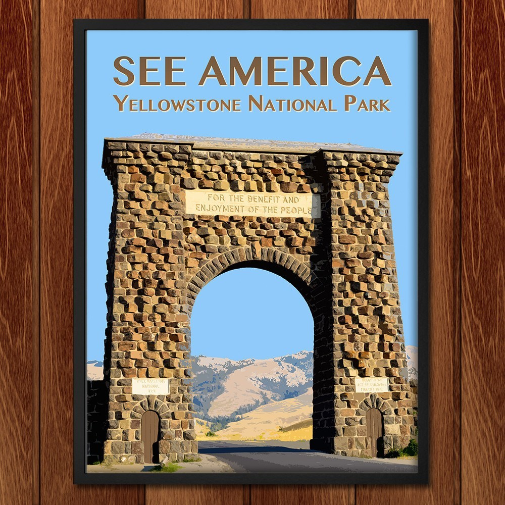 Yellowstone National Park by Zack Frank for See America - 2