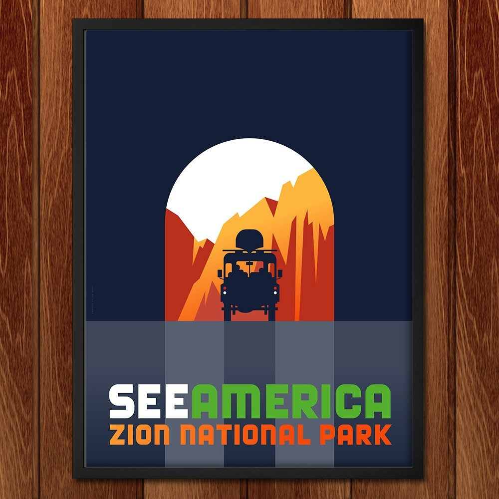 Zion National Park by Luis Prado for See America - 2