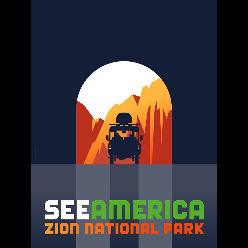 Zion National Park by Luis Prado for See America - 3