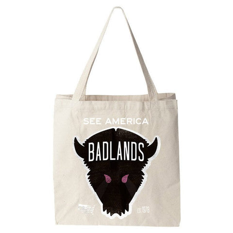 Badlands National Park Tote Bag by Matt Brass for See America