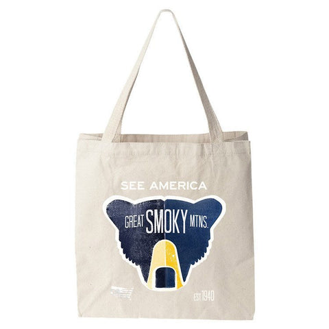 Great Smoky Mountains National Park Tote Bag by Matt Brass for See America