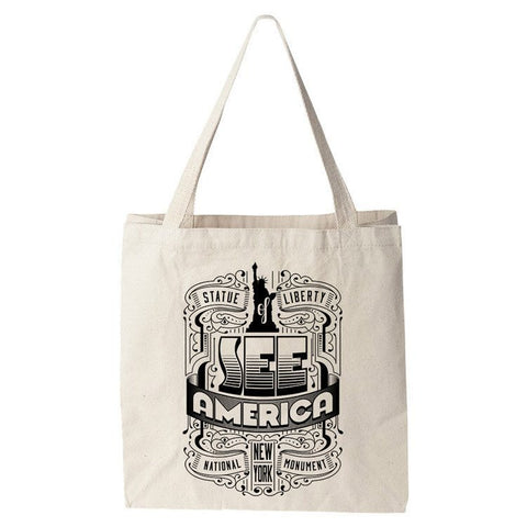 Statue of Liberty National Monument 2 Tote Bag by Roberlan Borges for See America