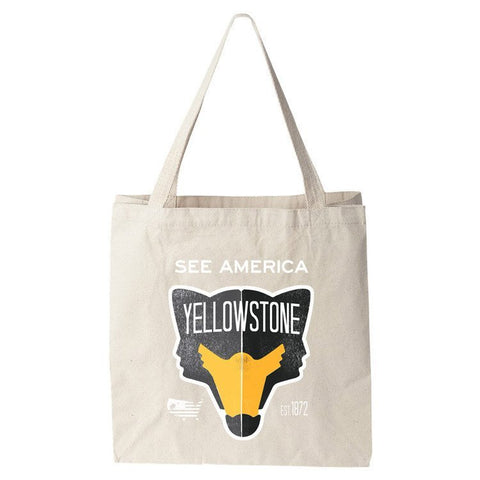 Yellowstone National Park Tote Bag by Matt Brass for See America