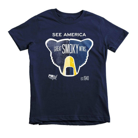 Great Smoky Mountains National Park Youth T-Shirt by Matt Brass for See America