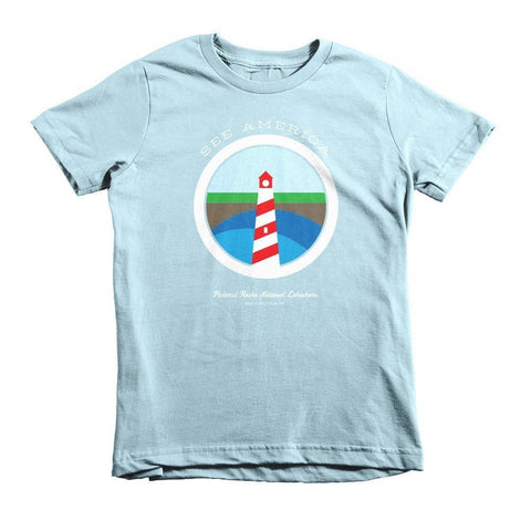 Pictured Rocks National Lakeshore Youth T-Shirt by Brandon Kish for See America