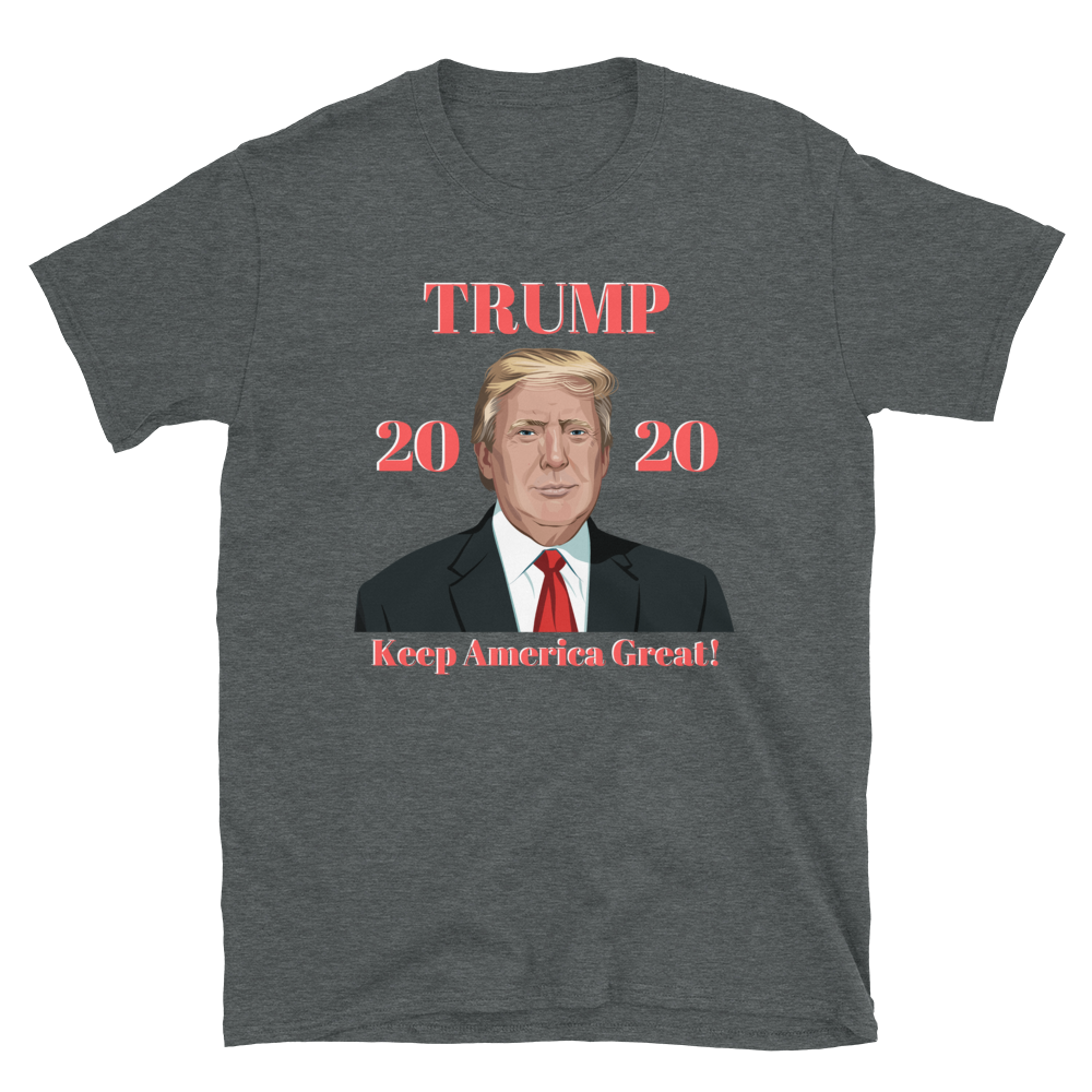 Trump 2020 Keep America Great Short-Sleeve Unisex T-Shirt