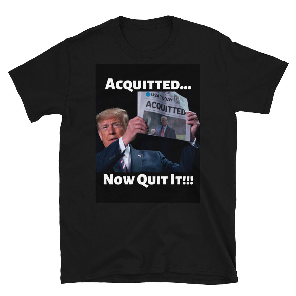 Acquitted Short-Sleeve Unisex T-Shirt