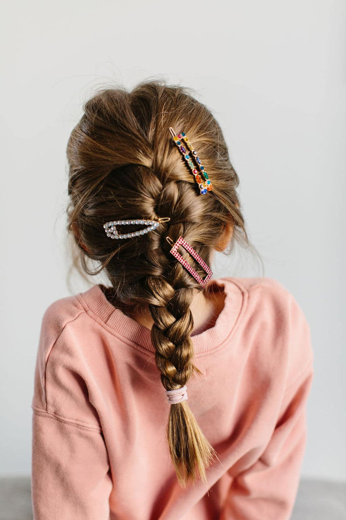 Kid's Hairstyles: How to French Braid