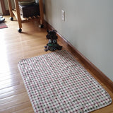 PersonallyPaws plaid washable dog potty wee wee pee pads