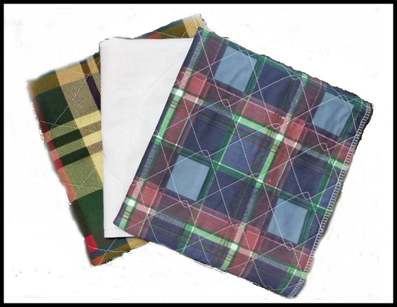 Assorted 3Pk 34x36  Size Pads