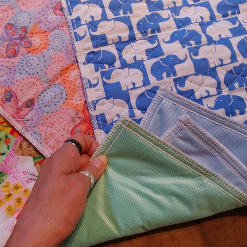 22x36 Assorted Print Washable Puppy Pads 2 Pk Try Me!