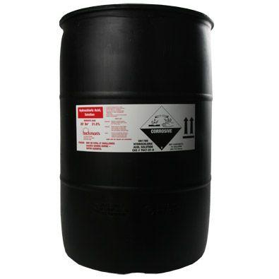 Hydrochloric Acid - 55 Gallon Drum