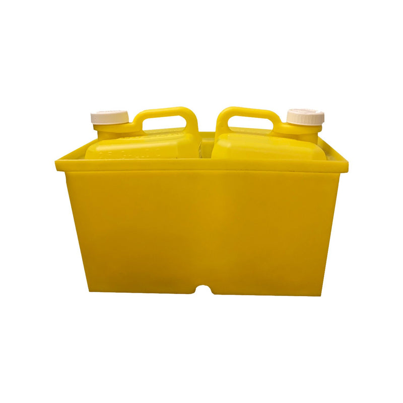 Chlorine Caddy Trunk Box Holds 2 Jerry Jugs