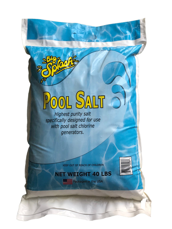Big Splash Pool Salt - 40lb. Bag