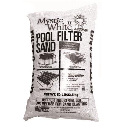 Mystic White® Pool Filter Sand