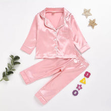 Load image into Gallery viewer, Satin PJ's | Kids Long Set