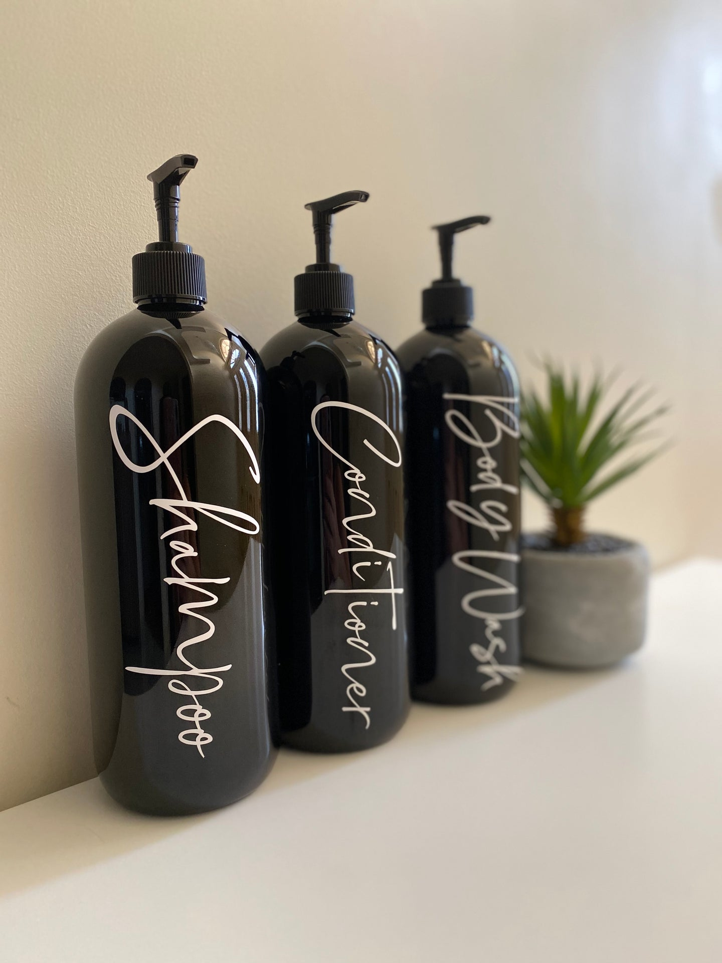 Lux Bathroom Bottle, Pump & Label