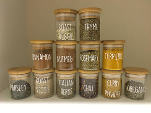 Lux Spice Labels