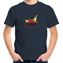 Load image into Gallery viewer, Unisex Children's T-Shirt with BERRY LOVELY logo - svpatterndesigns