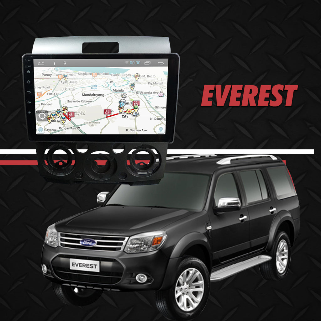 "Growl for Ford Everest 2015 All Variants Android Head Unit 9"" Screen"