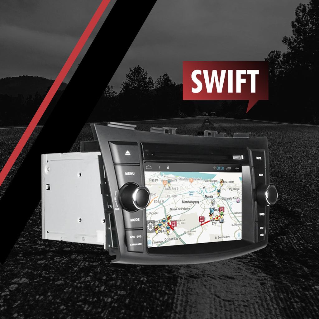 "Growl for Suzuki Old Swift 2014-2018 All Variants Android Head Unit 8"" BUTTON TYPE"