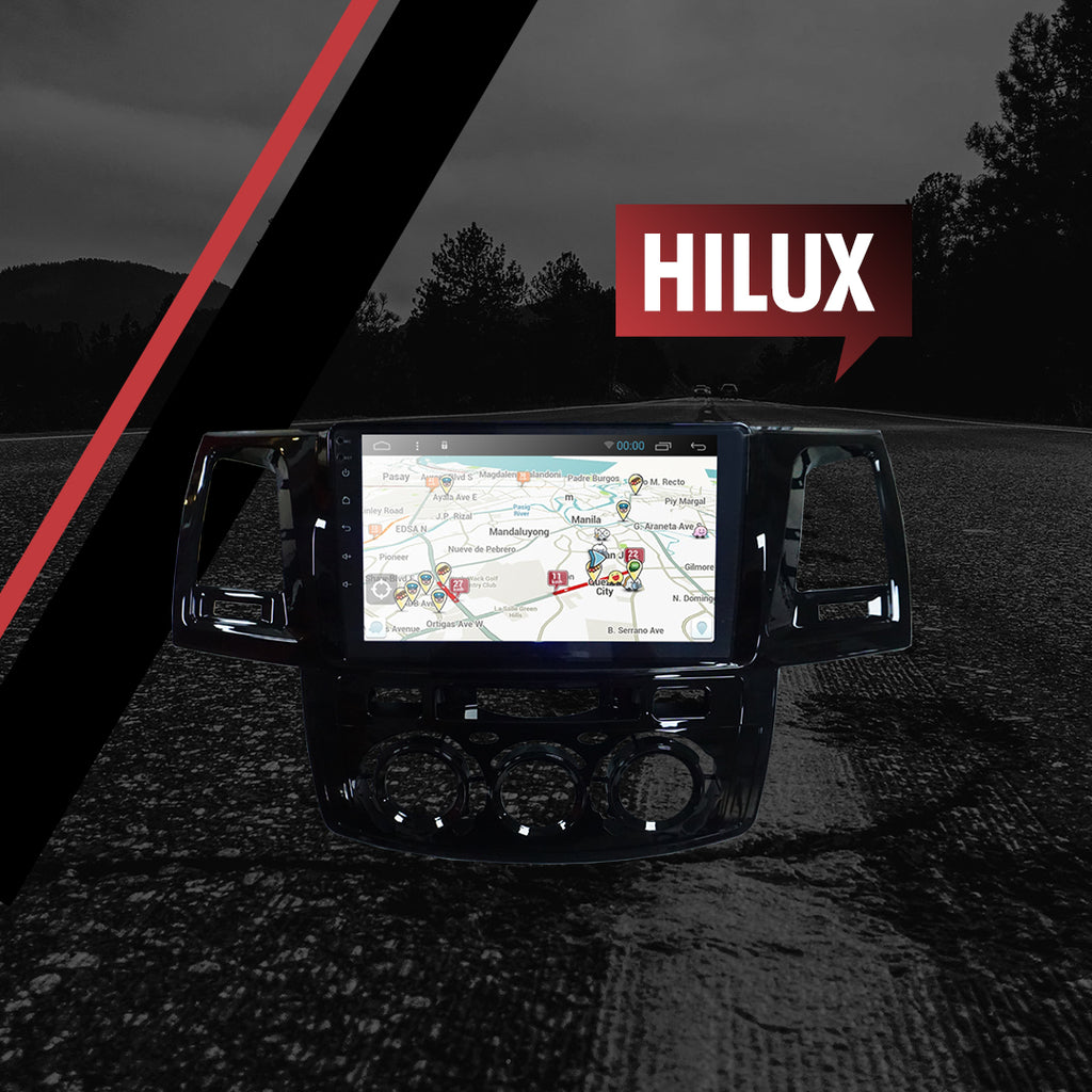 "Growl for Toyota Hilux 2005-2015 All Variants Android Head Unit 9"" Screen"