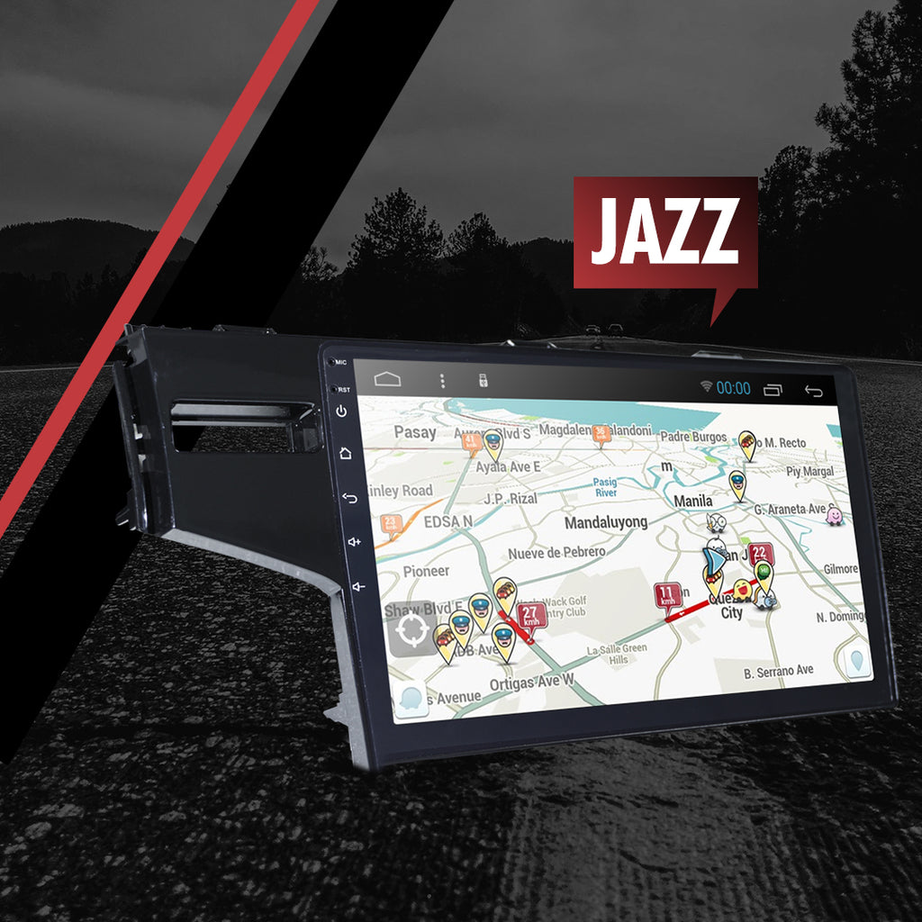 "Growl for Jazz 2014-2020 All Variants Android Head Unit 10"" FULL TAB"